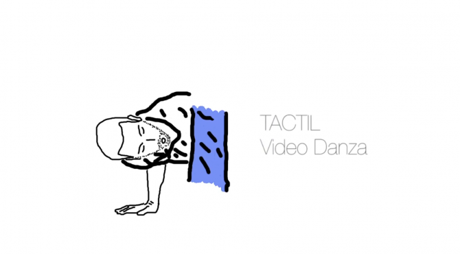 tactil video danza blanali